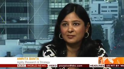 Amrita Banta China Luxury Interview on BBC World News