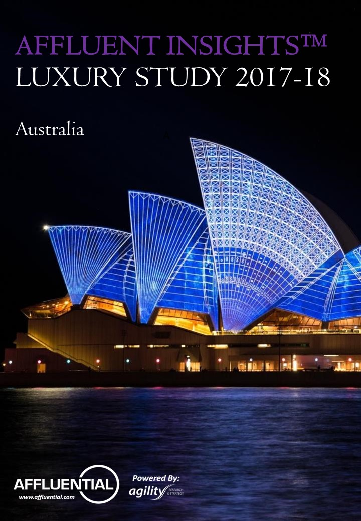 Australia: Luxury Report