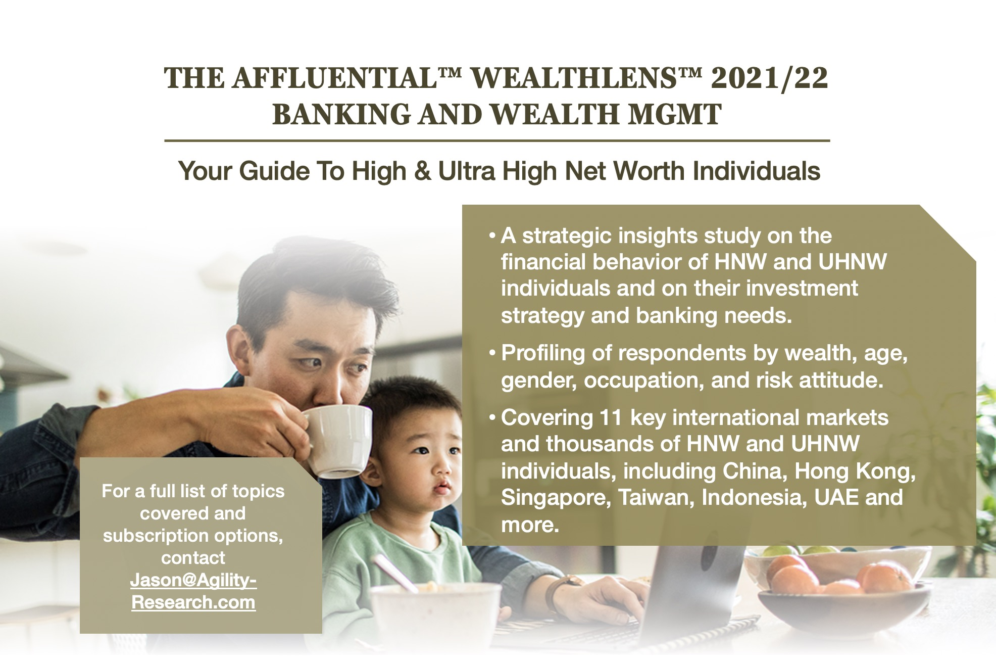 The AFFLUENTIAL™WealthLens™ 2021/2022 – Your Guide To High & Ultra High Net Worth Individuals