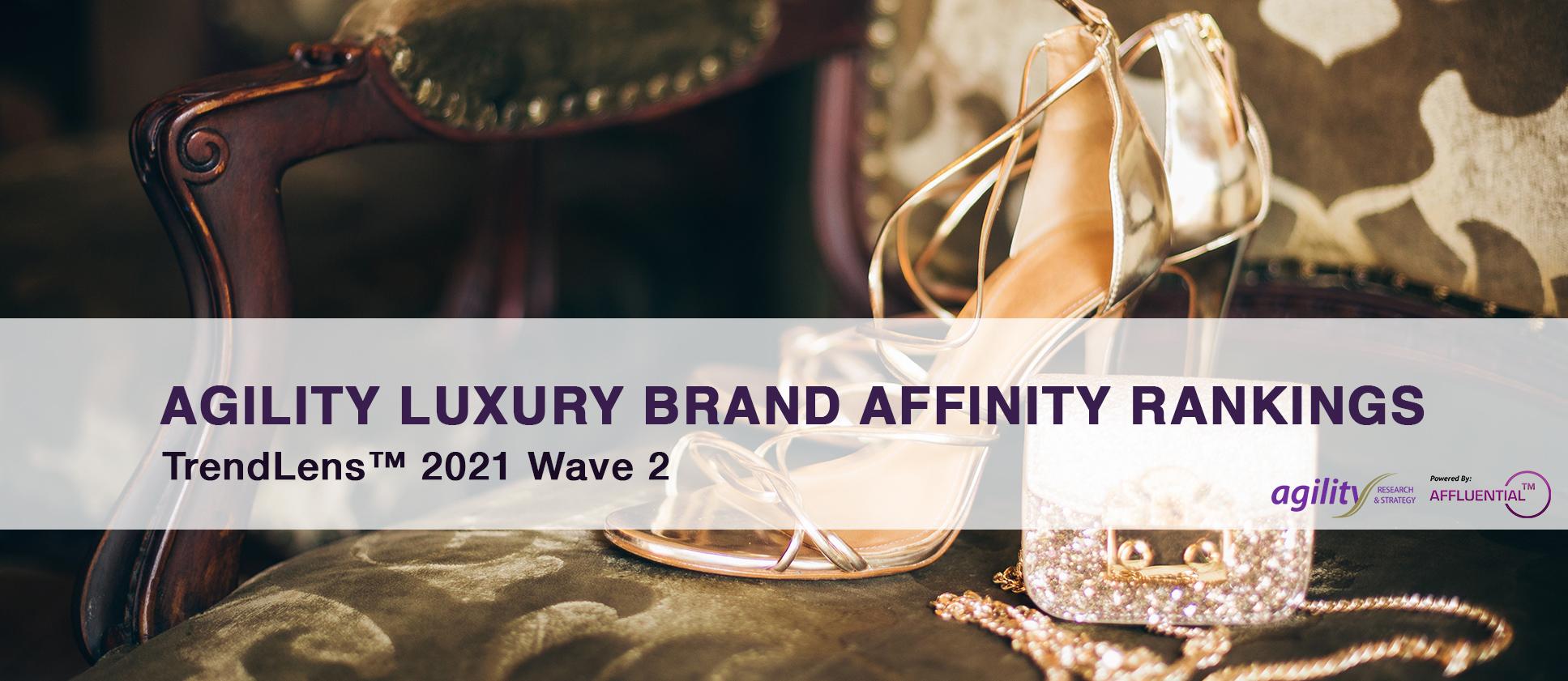 Agility Luxury Brand Affinity Rankings 2021